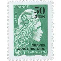 2020 Marianne l'engagée - 50 ANS GRAVÉS DANS L' HISTOIRE