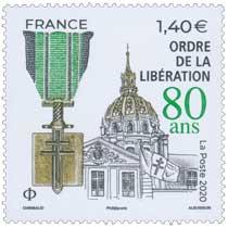2020 Ordre de la Libération 80 ans
