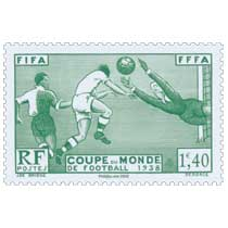 2020 Patrimoine de France - FIFA FFFA COUPE DU MONDE DE FOOTBALL 1938
