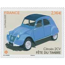 2021 Fête du timbre - Citroën  2CV