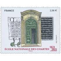 2021 ÉCOLE NATIONALE DES CHARTES 1821-2021