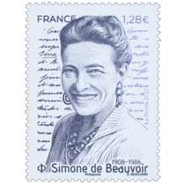 2021 Simone de Beauvoir 1908 - 1986