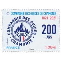 2021 COMPAGNIE DES GUIDES DE CHAMONIX 1821-2021 200 ANS