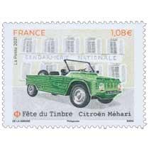 2021 Fête du timbre - Citroën Méhari