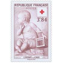 2021 Patrimoine de France - PIGALLE L'ENFANT A LA CAGE