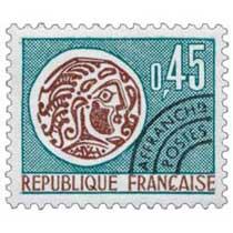 Sans légende particulière - type monnaie gauloise
