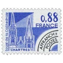 Tours de la cathédrale Chartres