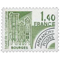 Tours de la cathédrale Bourges