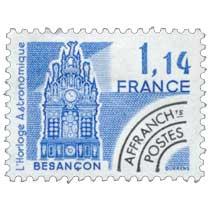 L'horloge astronomique Besançon.