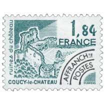 Les ruines de Coucy-le-château