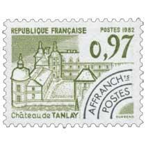1982 Château de Tanlay