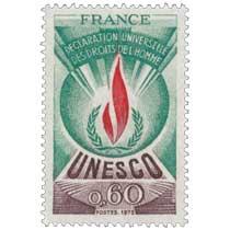 1975 UNESCO DÉCLARATION UNIVERSELLE DES DROITS DE L'HOMME