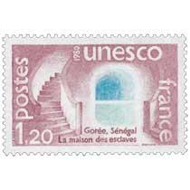 1980 Unesco Gorée, Sénégal La maison des esclaves
