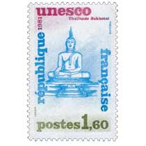 1981 Unesco Thaïlande Sukhotaï