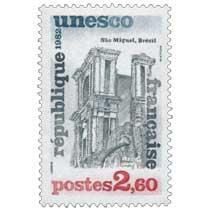 1982 Unesco Sâo Miguel, Brésil