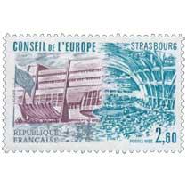 1982 CONSEIL DE L'EUROPE STRASBOURG