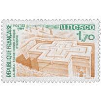 1984 Unesco LALIBELA ÉGLISE MONOLITHIQUE ÉTHIOPIE