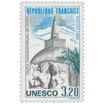 1985 Unesco TEMPLE D'ANURADHAPURA. SRI LANKA