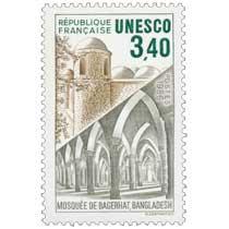 1986 Unesco MOSQUÉE DE BAGERHAT. BANGLADESH