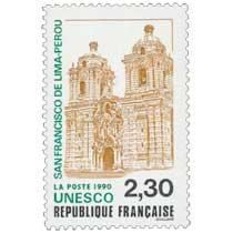 1990 UNESCO SAN FRANCISCO DE LIMA - PÉROU