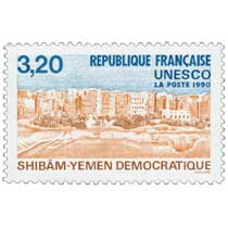 1990 UNESCO SHIBAM - YÉMEN DÉMOCRATIQUE