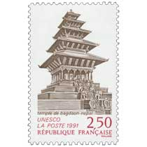 1991 UNESCO Temple de Bagdaon - Népal