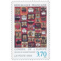 1994 CONSEIL DE L'EUROPE ŒUVRE DE HUNDERTWASSER