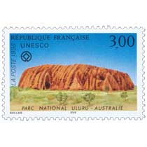 1996 UNESCO PARC NATIONAL ULURU - AUSTRALIE