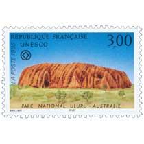 1996 UNESCO PARC NATIONAL ULURU - AUSTRALIE