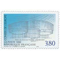 1996 CONSEIL DE L'EUROPE Palais de Droits de l'Homme - Strasbourg
