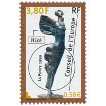 1999 Conseil de l'Europe Niké