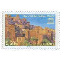 2007 UNESCO Ksar d'Aït-Ben-Haddou - MAROC