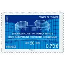 Conseil de l'Europe (European court of human rights) Cour européenne des droits de l'homme 1959-50-2009