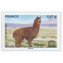 2010 Unesco - L'Alpaga