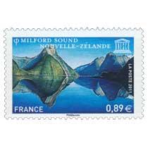 2011 UNESCO MILFORD SOUND NOUVELLE-ZÉLANDE
