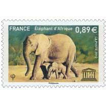2012 Éléphant d'Afrique UNESCO
