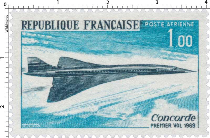 Concorde PREMIER VOL 1969