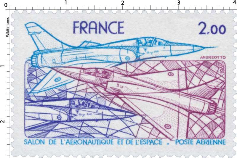 Timbre 1981 salon de l 39 a ronautique et de l 39 espace for Salon aeronautique