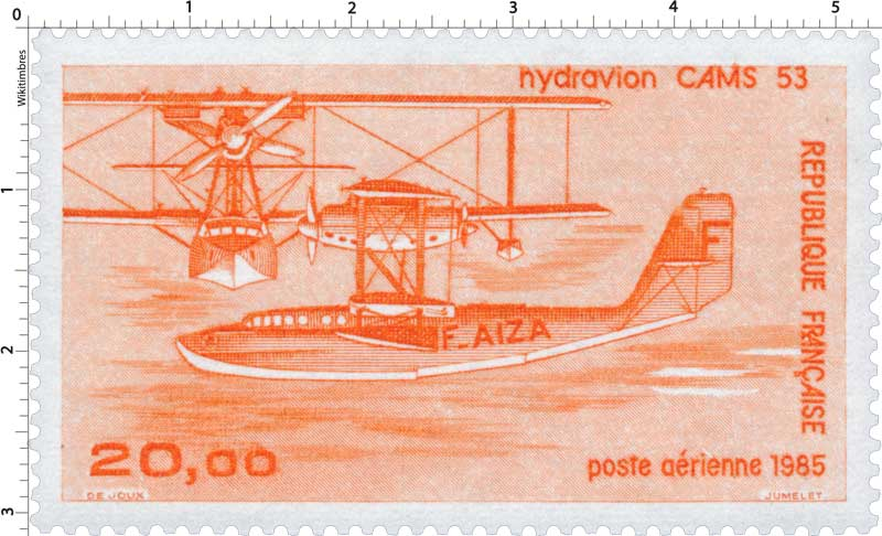 1985 Hydravion CAMS 53