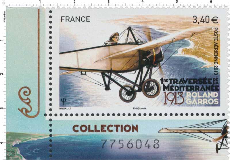 2013 Première traversée de la Méditerranée - 1913 - Roland Garros