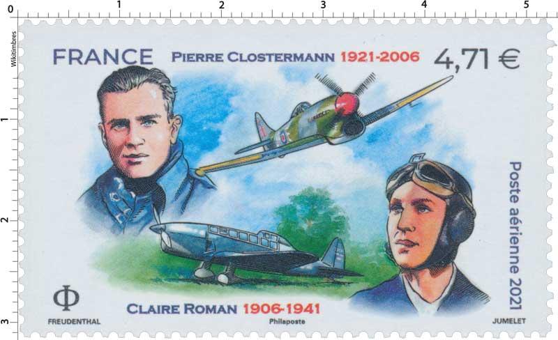 2021 Pierre CLOSTERMANN 1921 - 2006 Claire ROMAN 1906 - 1941