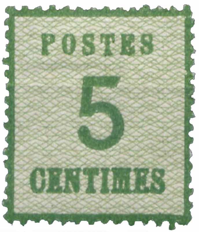 Postes 5 centimes