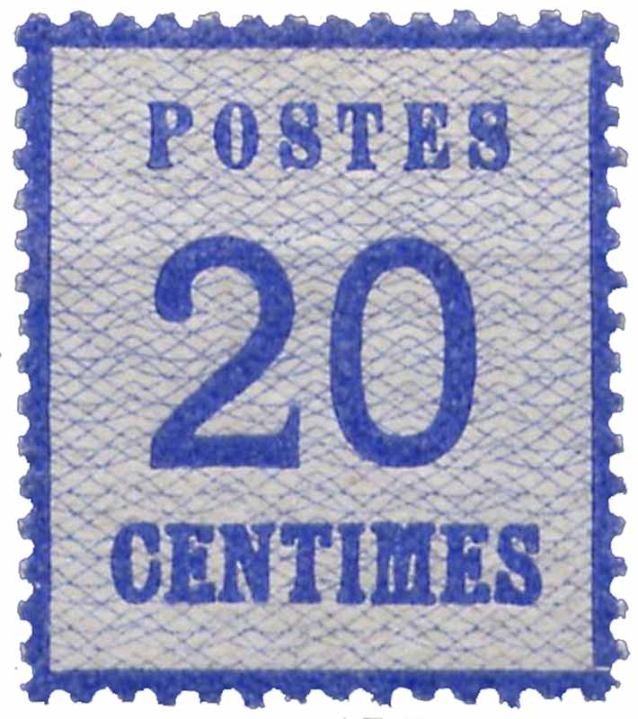 Postes 20 centimes