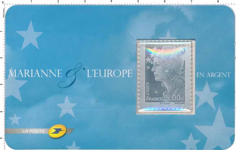 Marianne & l'Europe en argent