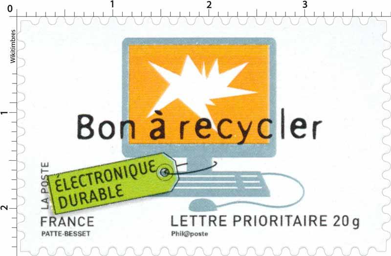 Bon à recycler ÉLECTRONIQUE DURABLE