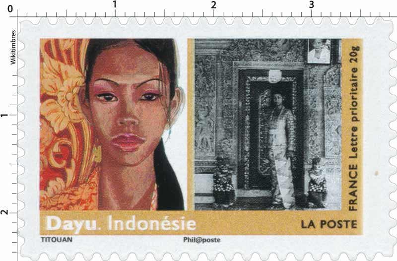 Dayu. Indonésie