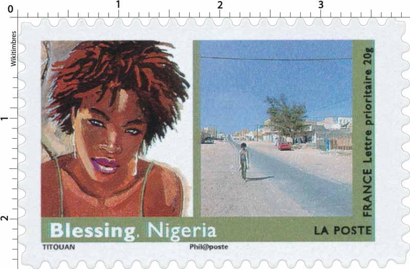 Blessing. Nigeria