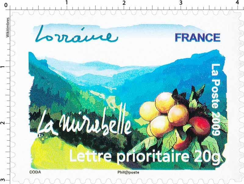 2009 Lorraine La mirabelle