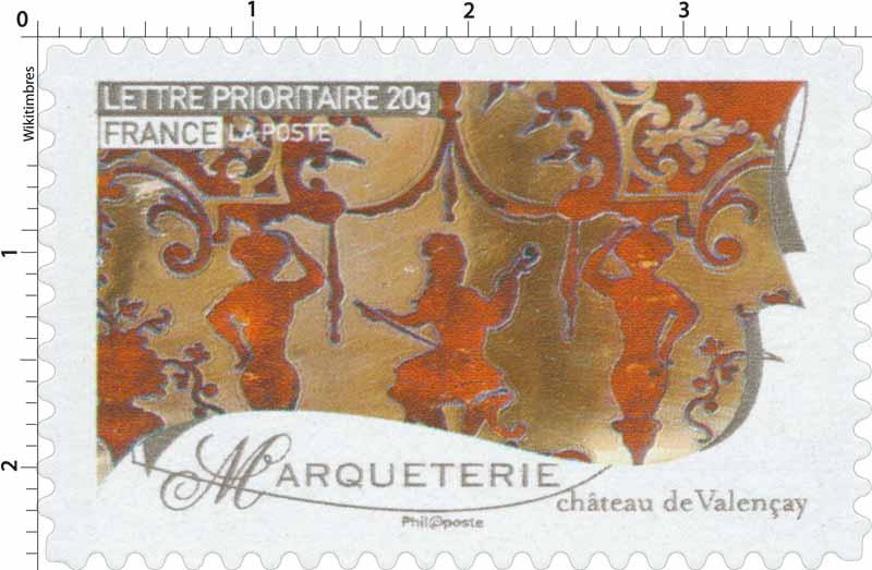 Marqueterie château de Valençay