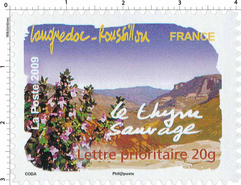2009 Languedoc-Roussillon le thym sauvage